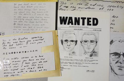 """Das Team entschlüsselte Botschaften des """"Zodiac""""-Mörders. AP"""