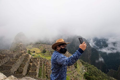 Das weltberühmte Touristenziel wurde erst vor sechs Wochen wieder geöffnet. AFP