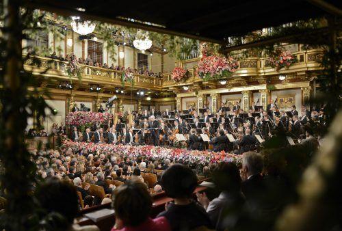 Das Wiener Neujahrskonzert, Österreichs Exportschlager, muss diesmal ohne Publikum stattfinden. APA