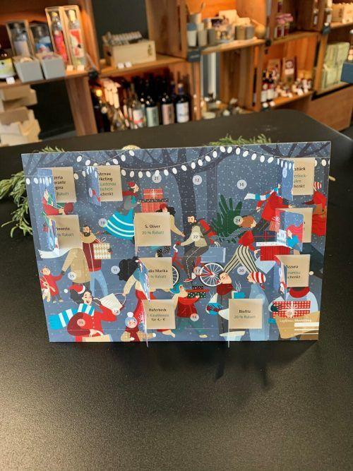 Den Lustenauer Adventkalender gibt es auch online.Lustenau Marketing