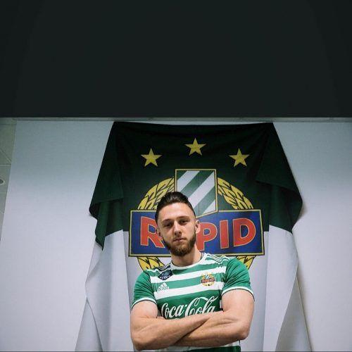 Der Bludenzer Dominik Lampacher wechselte von Altach nach Wien zu Rapid. RApid