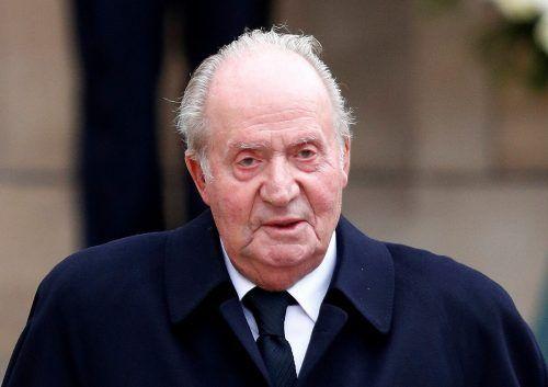 Der ehemalige spanische König Juan Carlos lebt seit vier Monaten im Exil. Reuters