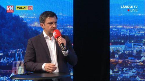 """Der Harder Bürgermeister Martin Staudinger erläuterte in der Sendung """"Vorarlberg live"""" auf VN.at, wie es um die Finanzen der Gemeinde steht."""