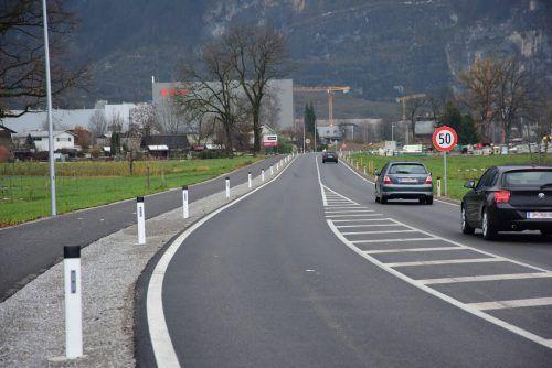 In der neuen Bleichestraße rollt jetzt der Verkehr. VLK