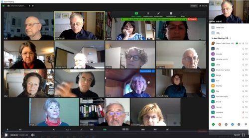Der Pensionistenverband Vorarlberg veranstaltete einen Onlinekurs über die Videotelefonie-Software Zoom.PVÖ