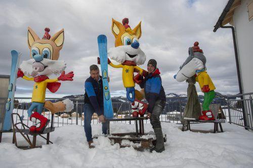 Der Skispaß soll bei allen Einschränkungen vor allem für die Kinder auch heuer nicht zu kurz kommen. VN/Paulitsch