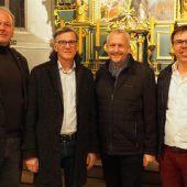 """<p class=""""caption"""">Die Altacher Pfarrkirche steht am Sonntag für einen Nikolaustag in privatem Rahmen offen.Egle</p>"""