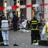 """<p class=""""caption"""">Die furchtbare Tat ereignete sich im Herzen von Trier. AFP, RTS</p>"""