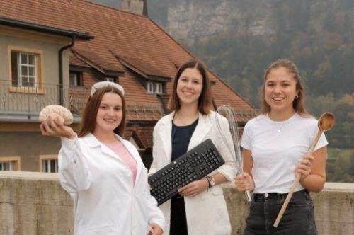 Die HLW Feldkirch informiert über ihr Bildungsangebot. HLW