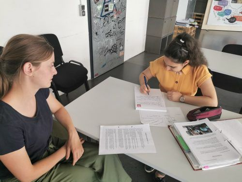 Die Lernbegleitung bei der OJAD richtet sich an Mittelschüler.OJAD