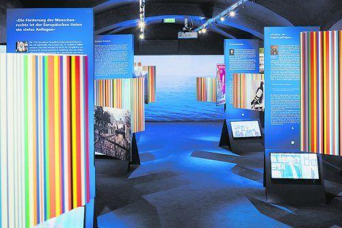 """""""Die letzten Europäer – Jüdische Perspektiven auf die Krisen einer Idee"""" heißt die aktuelle Sonderausstellung im Jüdischen Museum in Hohenems. walser image"""
