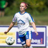 """<p class=""""caption"""">Die Schweizerin Geraldine Schnetzer hängt ihre Fußballschuhe an den Nagel.Steurer</p>"""