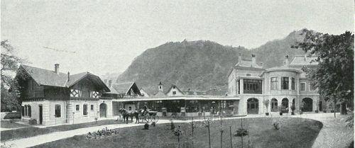 Die Villa Iwan und Franziska Rosenthal in Hohenems um das Jahr 1900.Jüdisches Museum (2)