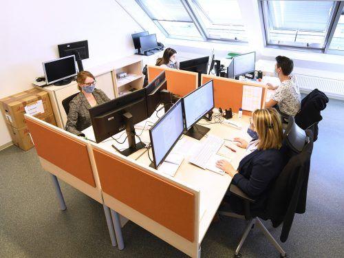 Ein Callcenter unterstützte die Landesregierung beim Contact-Tracing. APA