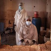 """<p class=""""factbox"""">Einblicke in eine Klinik für Flüchtlinge im Sudan: Mehr als 45.000 Menschen sind bislang aus Äthiopien in den Nachbarstaat geflohen.AFP</p>"""
