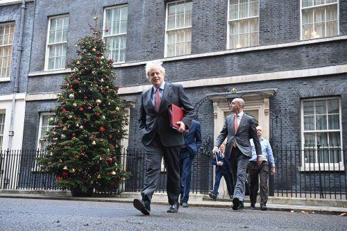 Er sei zwar hoffnungsvoll, die Situation sei aber knifflig, sagte Johnson. AFP