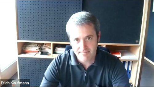 Erich Kaufmann sprach im Interview mit den VN von herausfordernden Zeiten und einer sehr motivierten Gemeindevertretung.VN/JS