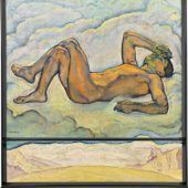 """<p class=""""caption"""">Erreichte einen Rekordwert: Koloman Mosers Gemälde """"Feldeinsamkeit"""". imkinsky</p>"""