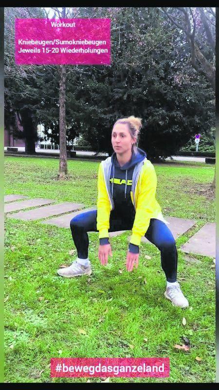 Fit mit Tamira Paszak. Auf VN.at ist das Video mit der Tennisspielerin und ihrem Workoutprogramm zu sehen.VN