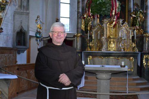 Für Pater Adrian ist Weihnachten die Ankunft Jesu in den Herzen der Menschen.BI
