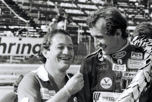 Für Vorarlberger Rennfahrer war Walter Lechner wichtig: Anfang der 80er-Jahre wurde Hermann Bischof (r.) Staatsmeister und Cupsieger mit dem Lechner-Team.mn