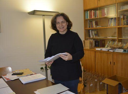 Gemeindeleiterin Martina Lanser begleitet und organisiert das Projekt der handgeschriebenen Psalmen.eh (2)