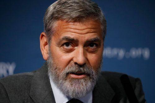 George Clooney war wegen einer Bauchspeicheldrüsenentzündung im Spital. AFP