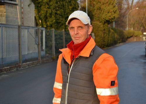 Gerd Engelhardt ist als Kanaler immer im Einsatz. HRJ