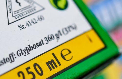 Glyphosat zählt zu den am häufigsten eingesetzten Unkrautvernichtern. apa
