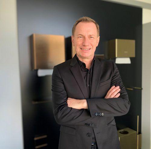 Gründer und Inhaber Armin Degasperi blickt aufeine ungebrochene Dynamik der Geschäftsentwicklung. proox