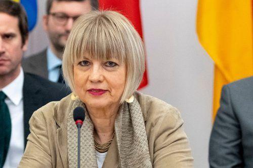 Helga Schmid wurde zur OSZE-Generalsekretärin bestellt.AFP