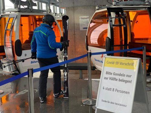 Im Skigebiet Silvretta Montafon blieben Zahlen unter den Erwartungen. Simo