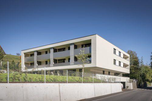 In der Carinagasse Feldkirch wurde eine Wohnanlage mit 17 Einheiten in Massivbauweise errichtet. vogewosi