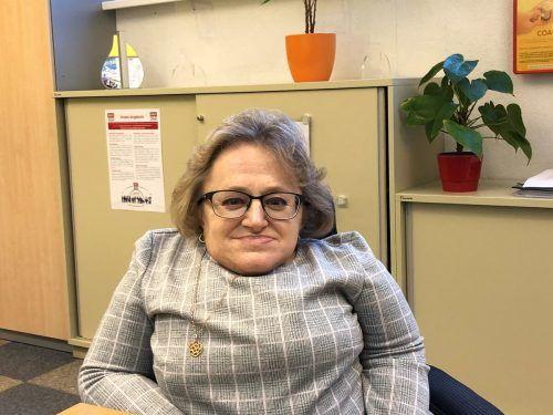 Karin Stöckler kämpft täglich für behinderte Menschen. VN/Hämmerle
