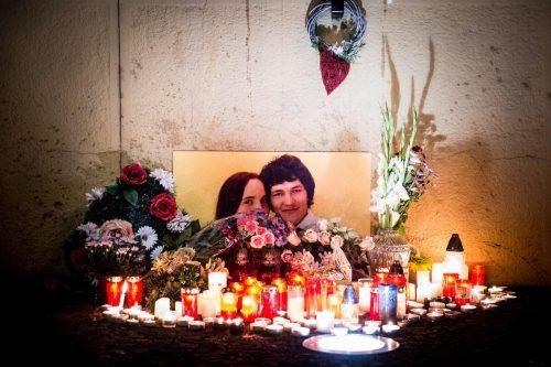 Kuciak und seine Verlobte Martina wurden 2018 ermordet.AFP