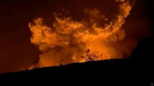 Kurz nach dem Vulkanausbruch wurde ein Erdbeben der Stärke 4,4 registriert. epiclava