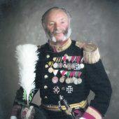 """<p class=""""caption"""">Lorenz King blieb 83 Jahre lang den Fronleichnamsschützen verbunden.</p>"""