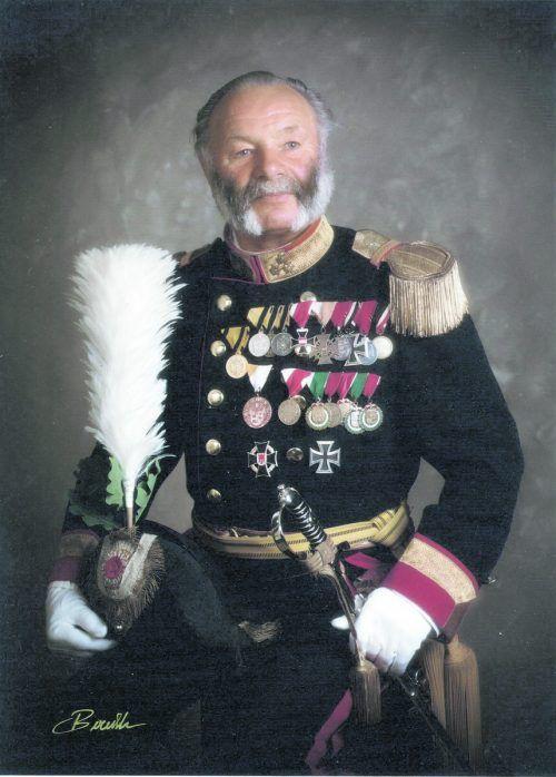 Lorenz King blieb 83 Jahre lang den Fronleichnamsschützen verbunden.
