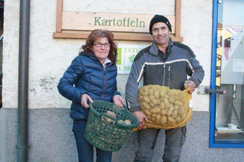 Lothar und Rosa Kaufmann würden sich angesichts der aktuellen Lage sehr über Neukunden freuen.MAE