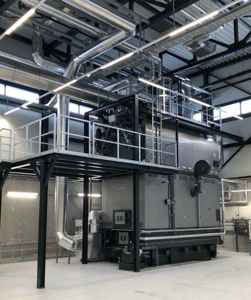 Mawera ist Spezialist für industrielle Biomasseanlagen. mawera