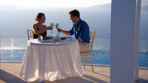 Melissa und Daniel genossen ihr Dreamdate in Griechenland in vollen Zügen. TVNOW