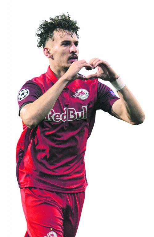 Mergim Berisha erzielte zuletzt beim 3:1 bei Lok Moskau zwei Treffer.GEPA