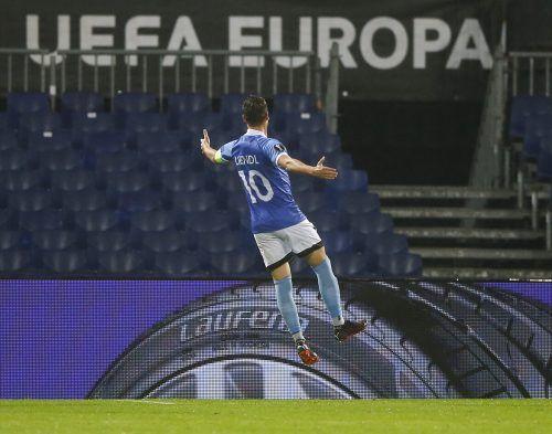 Michael Liendl und der WAC wollen nächsten Meilenstein in Europa League.ap