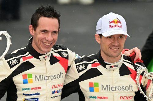 Mit einem Sieg in Monza Champions: Sebastien Ogier (r.) und Julien Ingrassia.apa