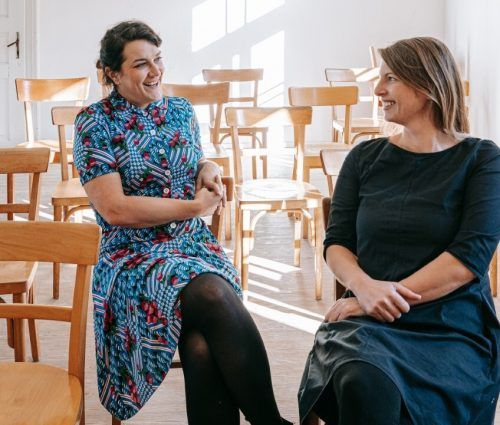 Mit Kultur Shop erfolgreich: Veronika Sutterlüty und Sandra Pöltl. Berchtold