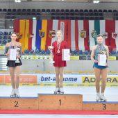 """<p class=""""caption"""">Olga Mikutina konnte bei den Staatsmeisterschaften in Linz ihren Titel vom Vorjahr erfolgreich verteidigen.Luca Tonegutti</p>"""