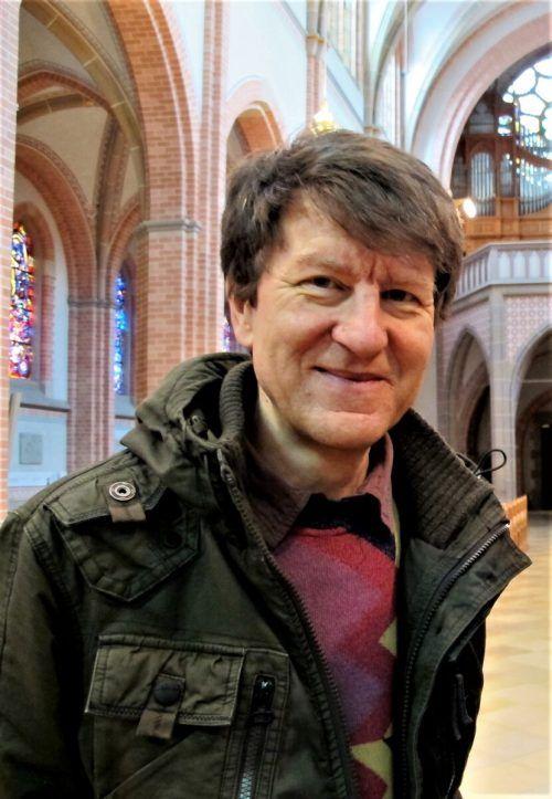 Organist Helmut Binder ist seit 37 Jahren in Herz-Jesu tätig. JU