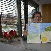 """<p class=""""caption"""">Pfarrsekretärin Doris Rhomberg kreierte den ersten Psalm für das """"Buch der Psalmen"""".</p>"""