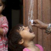 """<p class=""""factbox"""">Polio-Impfung in Pakistan: Die pakistanische Regierung startete eine Kampagne, um die Krankheit in ihrem Land auszurotten. AP</p>"""
