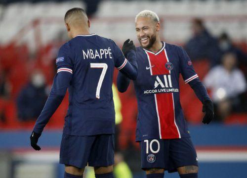 PSGs Neymar und Kilian Mbappé waren von Basaksehir einfach nicht zu halten.reuters